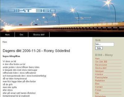 Dagens dikt, 2006