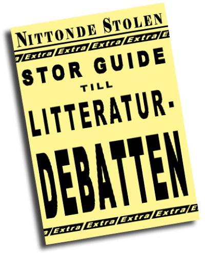 Nittondestolen - Guide till litteraturdebatten